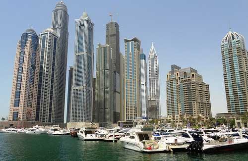 Dubai Marina (Image: travelourplanet.com)