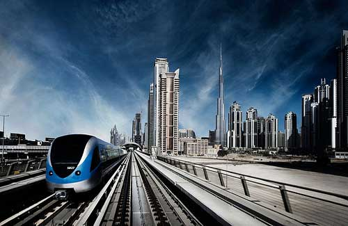 Dubai Metro (Image: george shahda)