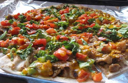 Mexican pizza (Image: theresac used under a Creative Commons Attribution-ShareAlike license)