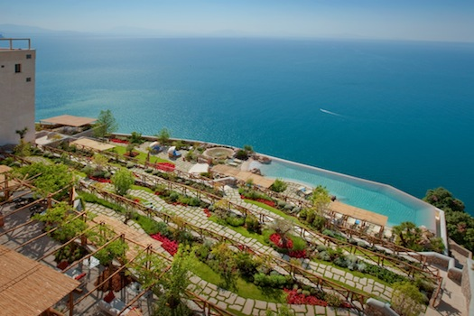 Monastero Santa Rosa Hotel & Spa, Amalfi Coast, Italy © Monastero Santa Rosa Hotel & Spa