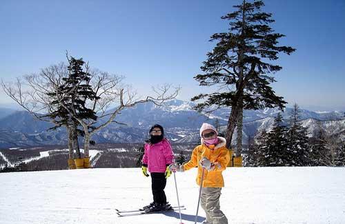 Kids skiing (Image: imnakashima used under a Creative Commons Attribution-ShareAlike license)