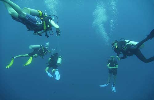 Scuba diving in Thailand (Image: octal)