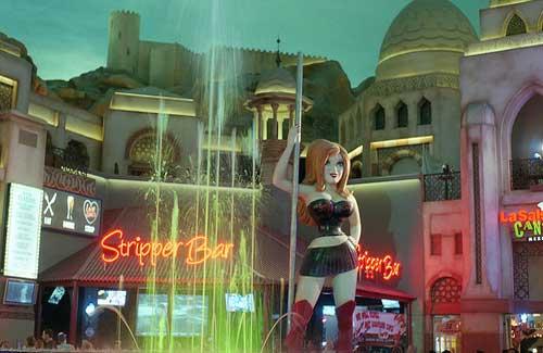Stripper Bar (Image: Drregor used under a Creative Commons Attribution-ShareAlike license)