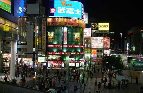 Shinjuku, Tokyo (Image: tristanf)
