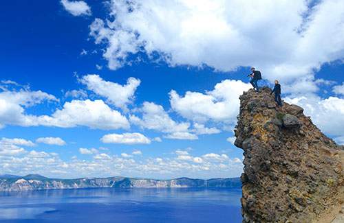 Garfield Peak, Crater Lake National Park, Oregon (Image: Christian Heeb/Travel Oregon)