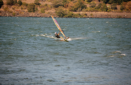 Windsurfing at Crater Lake National Park, Oregon (Image: Travel Oregon)