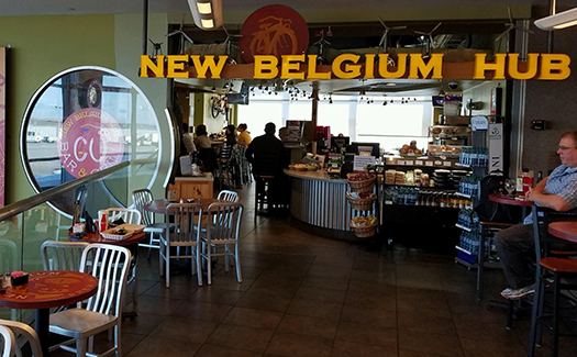 New Belgium Hub, Denver International Airport