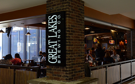 Great Lakes Brewing Company, Cleveland International Airport