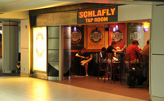 Schlafly Beer Bar & Grill, Lambert-St. Louis International