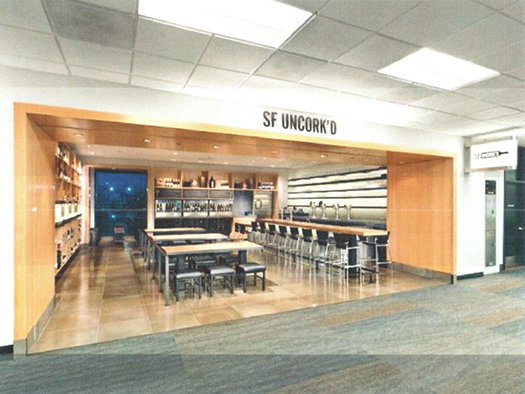 Uncork'd, San Francisco International Airport