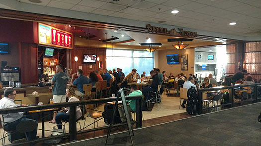 Pyramid Brewery Taproom, Oakland International Airport