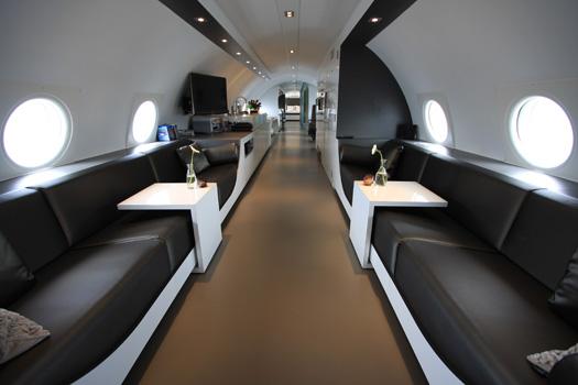 Vliegtuigsuite Teuge © Hotel Suites NL (http://www.hotelsuites.nl/)