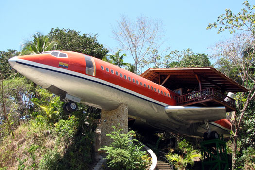727 Fuselage Home © Hotel Costa Verde (image sent by venue)