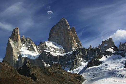 Mount Fitz Roy © DmitryLityagin/iStock/Thinkstock (http://www.thinkstockphotos.co.uk/image/stock-photo-mount-fitz-roy/467327055)