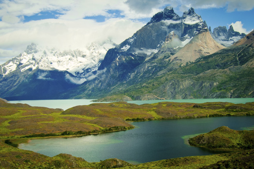 Torres del Paine National Park © johannlourens/iStock/Thinkstock (http://www.thinkstockphotos.co.uk/image/stock-photo-nordenskj%C3%B6ld-lake-and-torres-del-paine/185822961)