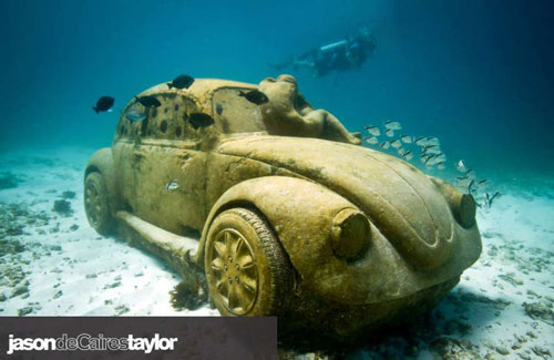 Quirky travel find: Cancun Underwater Museum 5