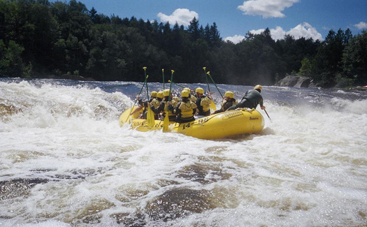 Whitewater rafting in Maine (Image: kencurtis used under a Creative Commons Attribution-ShareAlike license)