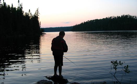 Fishing in Ontario (Image: oakleyoriginals)