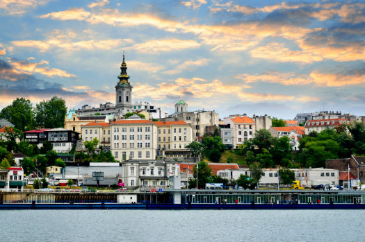 Belgrade © Elenathewise/iStock/Thinkstock http://www.thinkstockphotos.co.uk/image/stock-photo-belgrade-cityscape-on-danube/177007038