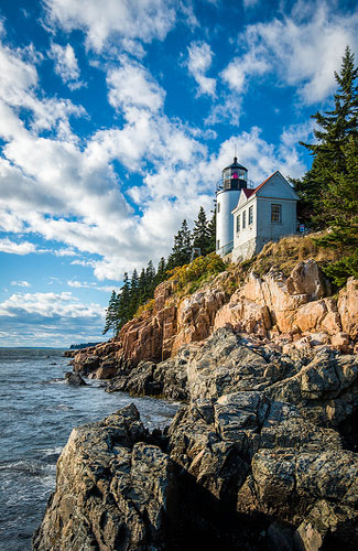Bass Harbor Lighthouse (Image: mattbaron used under a Creative Commons Attribution-ShareAlike license)