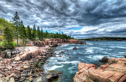 Near Thunder Hole in Acadia National Park (Image: KimCarpenter NJ)