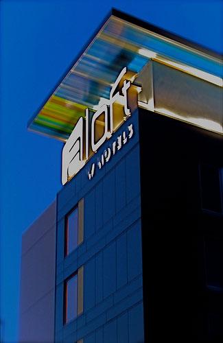 Aloft Hotel (Image: Chris Harley)