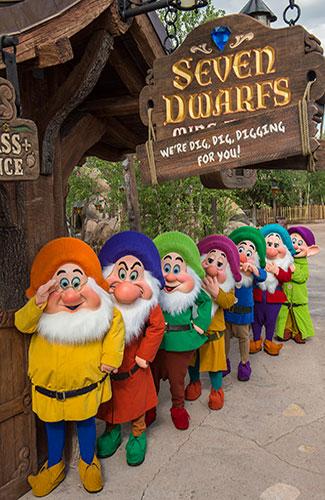 Seven Dwarves Mine Train (Image: Walt Disney World)