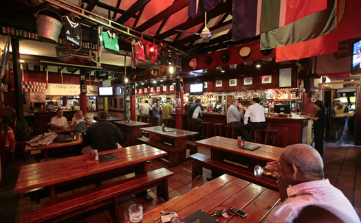 The Fireman's Arms, Cape Town, South Africa (Image courtesy of The Fireman's Arms)