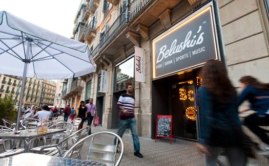 Belushi's, Barcelona (Image courtesy of Belushi's)