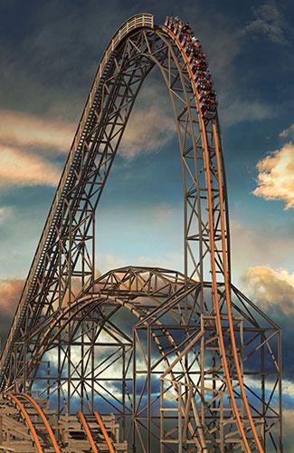 Goliath (Image: Six Flags Great America)