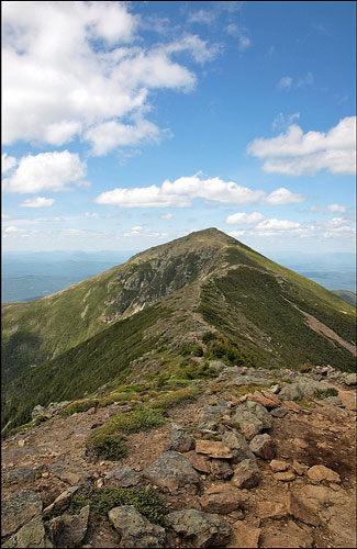 Franconia Ridge (Image: kumsval used under a Creative Commons Attribution-ShareAlike license)