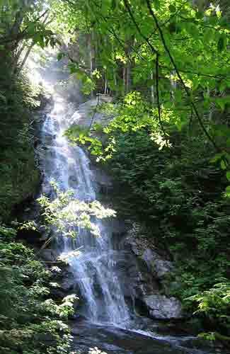A waterfall on Mt. Moosilauke (Image: jbarreiros used under a Creative Commons Attribution-ShareAlike license)