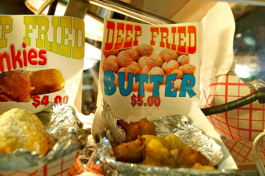Deep fried butter