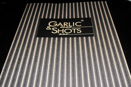 at Garlic & Shots in London, a restaurant where every dish comes with garlic as its primary ingredient