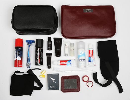 Qu'obtenez-vous dans un kit d'agrément Qantas