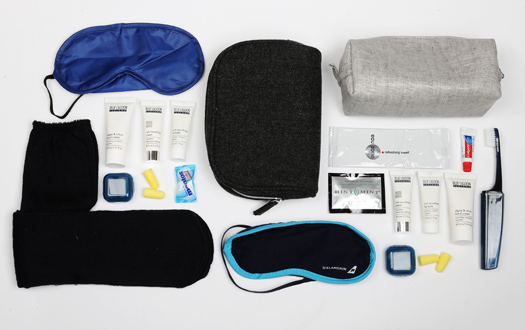 Icelandair draws on its geography and history in its amenity kits. © Cheapflights