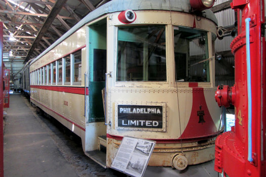 Trolley Museum  © David Wilson/Flickr (https://www.flickr.com/photos/davidwilson1949/8487963498)