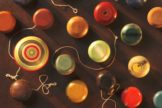 Yo Yo Museum © redbirdbill/iStock/Thinkstock (http://www.thinkstockphotos.co.uk/image/stock-photo-antique-yo-yo-s/148233752)