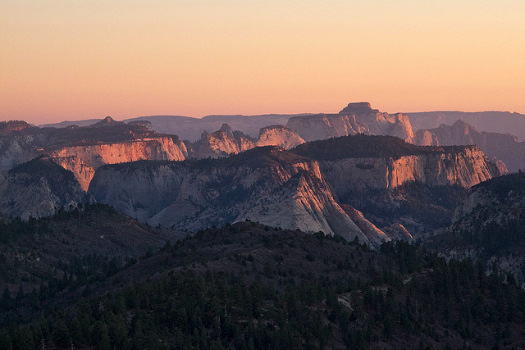 Free Campsites Around the World: Lava Point, Zion National Park, Utah. Photo by John Fowler