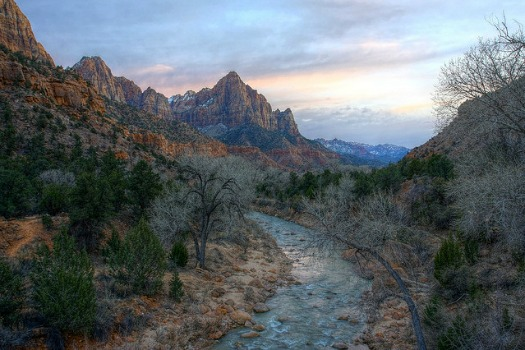 Free Campsites Around the World: Zion National Park, Utah. Photo by Rene Schwietzke