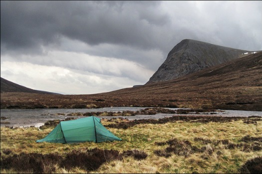 Free Campsites Around the World: Cairngorms National Park, Scotland. Photo by Ted and Jen