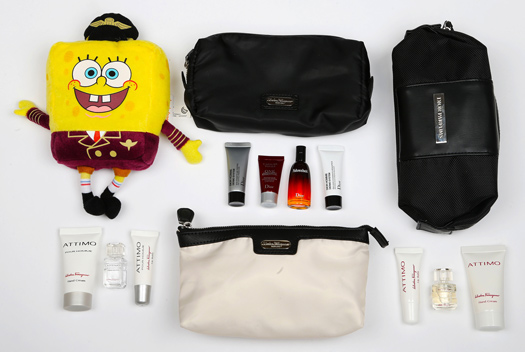 What do you get in a Qatar Airways amenity kit?