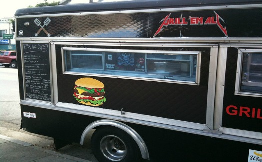 Grill Em' All food truck (Image: Eric Gelinas)