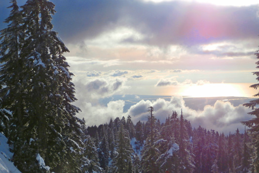 Mt Seymour, BC, Canada. Photo by Jennifer C.