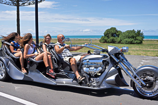 Supertrike, Napier, New Zealand. Photo by  Supertrike Tours