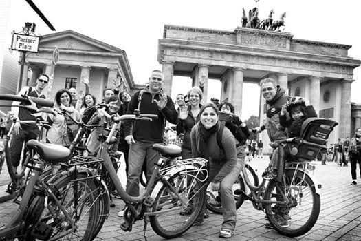 Fat Tire Berlin, Germany. Photo by berlin.fattirebiketours.com