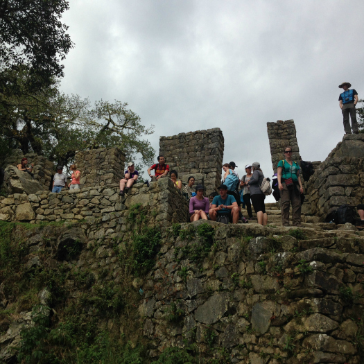 Intipunku, also known as The Sun Gates of Machu Picchu. Inca Trail hikers end up at these gates before entering Machu Picchu. (Image: Melisse Hinkle)