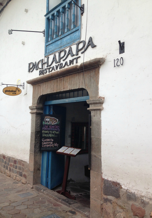 Pachapapa -- great spot for a little more of an upscale dining experience in Cusco (Image: Melisse Hinkle)