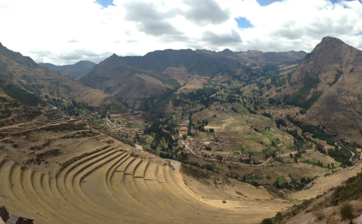 Gazing out from the Inca ruins of Pisac (Image: Melisse Hinkle)