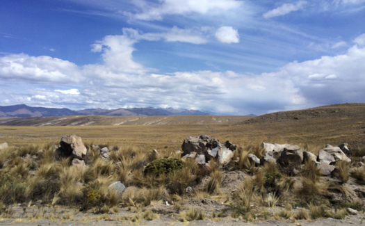 On the road from Arequipa heading toward the Colca Valley (Image: Pearse Lombard)